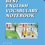 Best English Vocabulary Notebook A English Book Cover Front Page