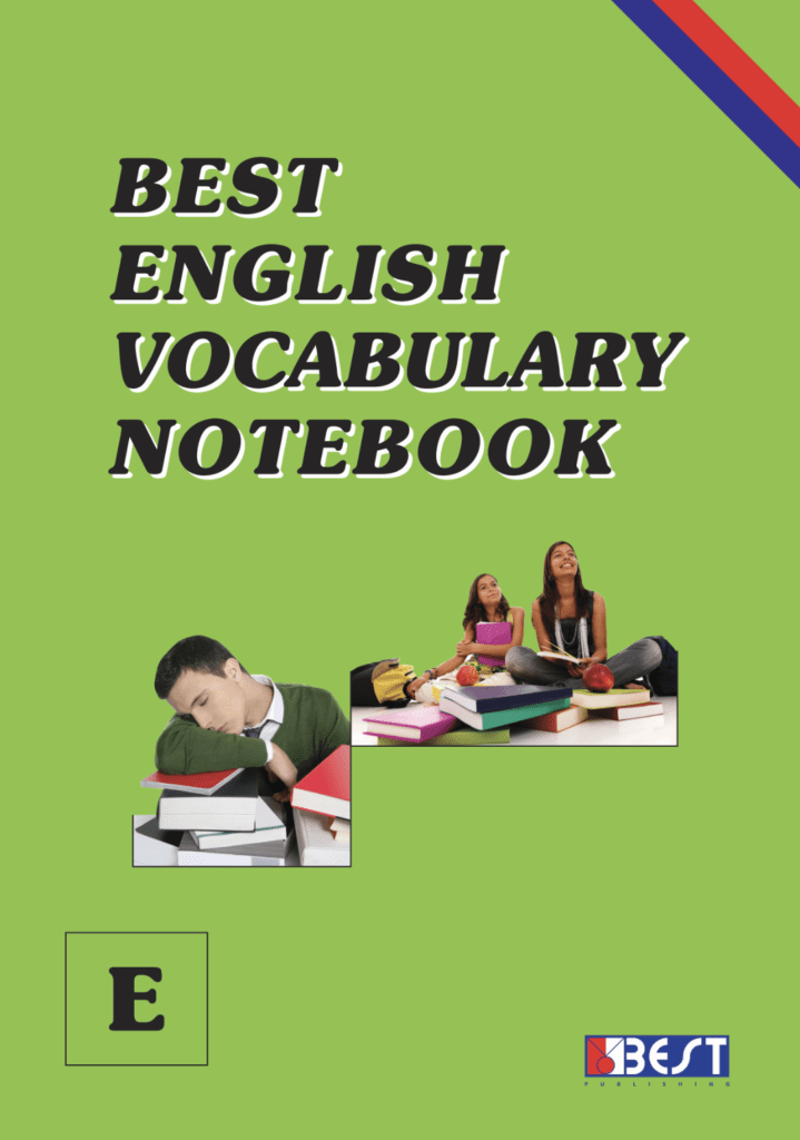 Best English Vocabulary Notebook E English Book Cover Front Page