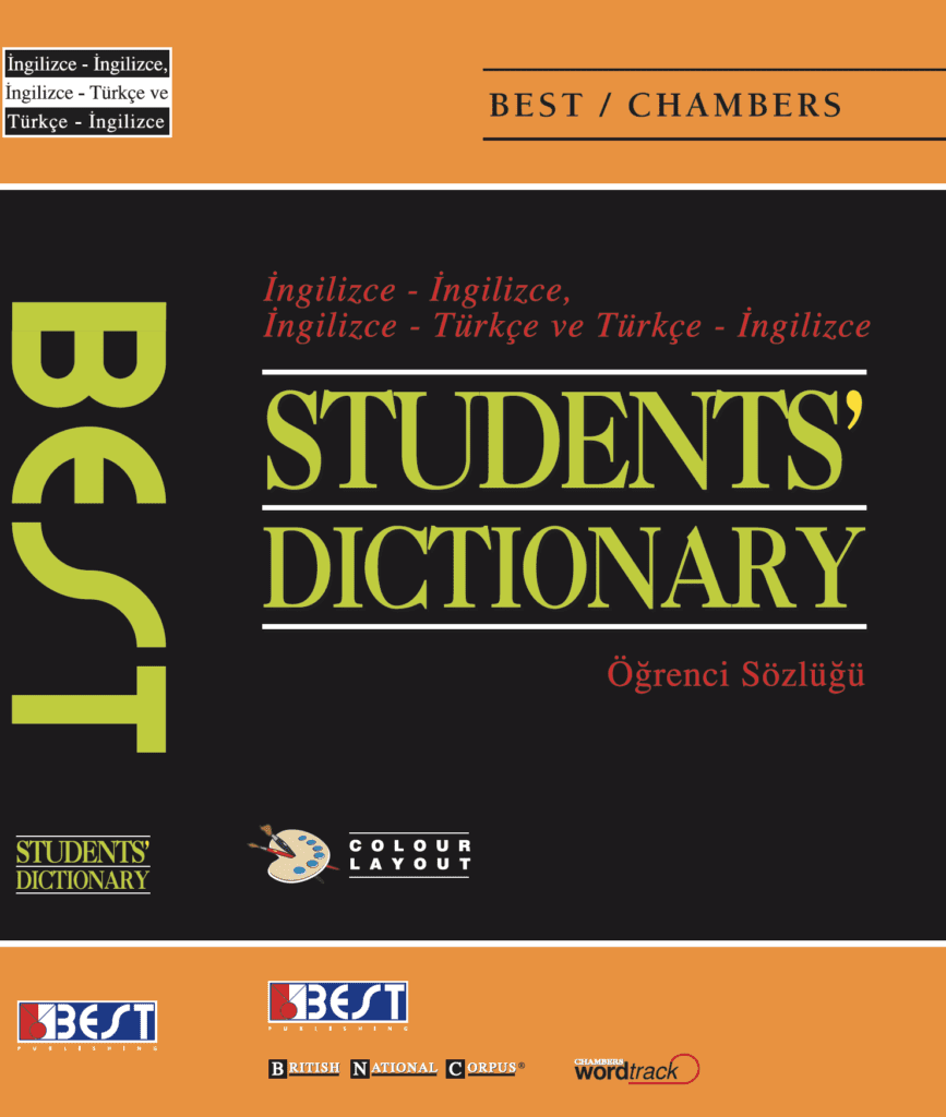 Best Publishing Chambers Students' English Dictionary Cover Front Page