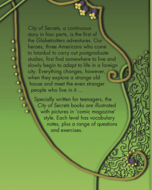City of Secrets Level 1 English Reader Book Cover Back Page