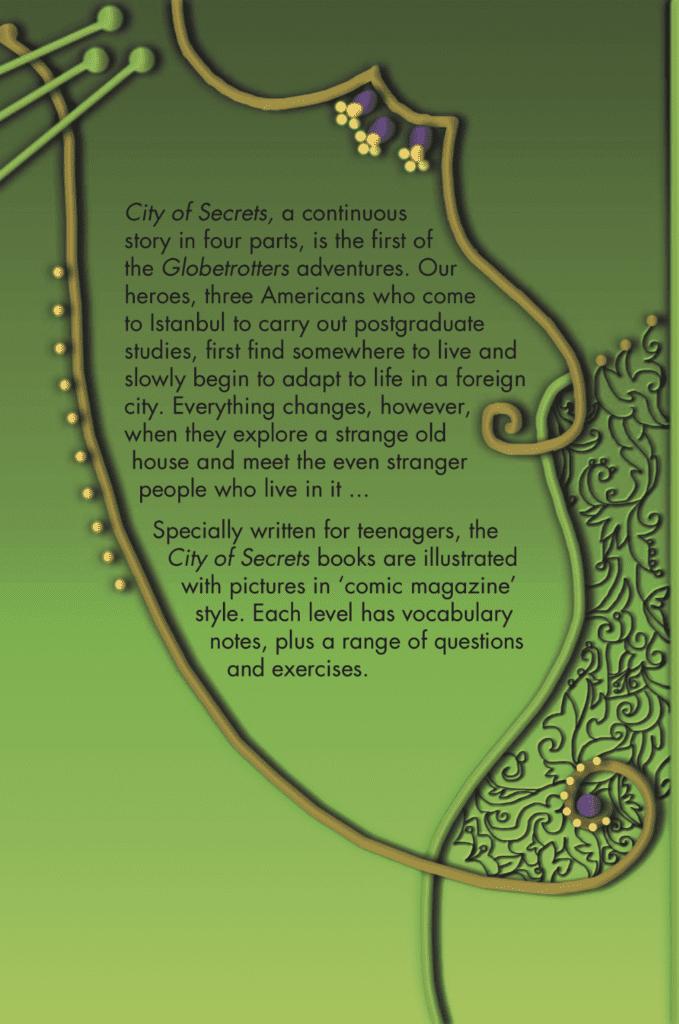 Ingilizce Kitap City of Secrets Level 1 English Reader Book Cover Back Page