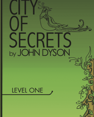 City of Secrets Level 1 English Reader Book Cover Front Page