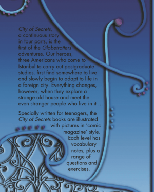 City of Secrets Level 2 English Reader Book Cover Back Page