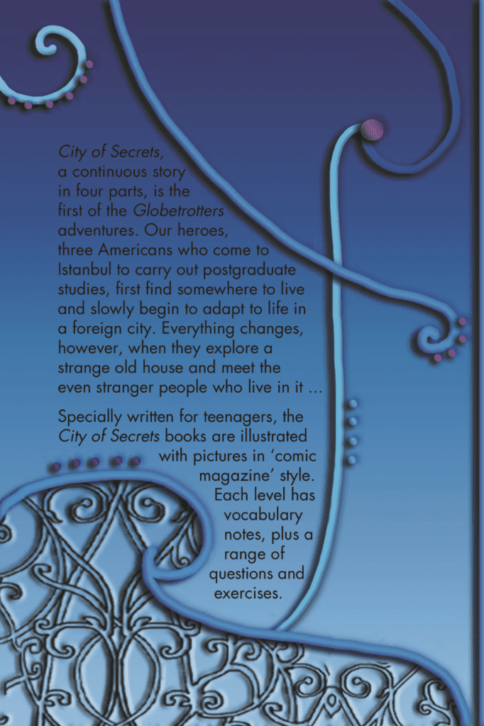 Ingilizce Kitap City of Secrets Level 2 English Reader Book Cover Back Page