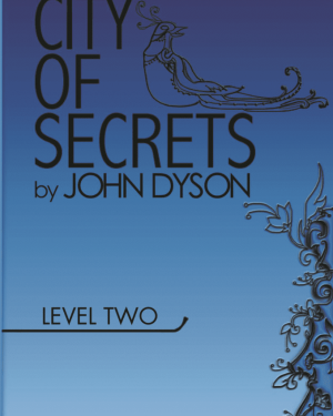 City of Secrets Level 2 English Reader Book Cover Front Page