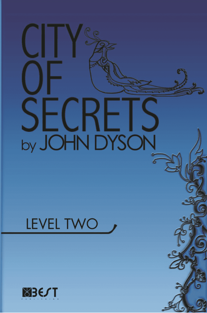 Ingilizce Kitap City of Secrets Level 2 English Reader Book Cover Front Page