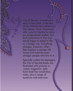 City of Secrets Level 3 English Reader Book Cover Back Page