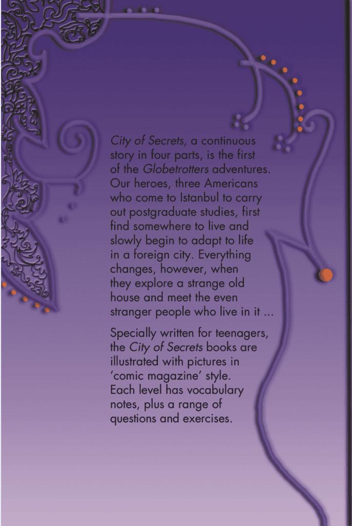 Ingilizce Kitap City of Secrets Level 3 English Reader Book Cover Back Page
