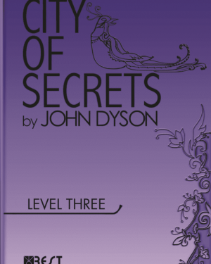 City of Secrets Level 3 English Reader Book Cover Front Page
