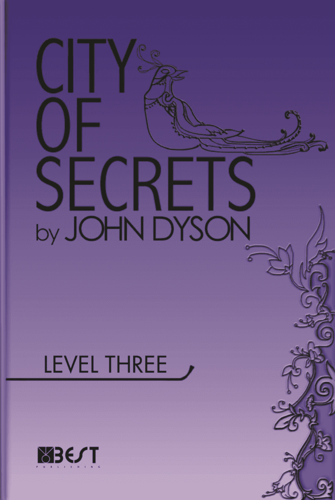Ingilizce Kitap City of Secrets Level 3 English Reader Book Cover Front Page