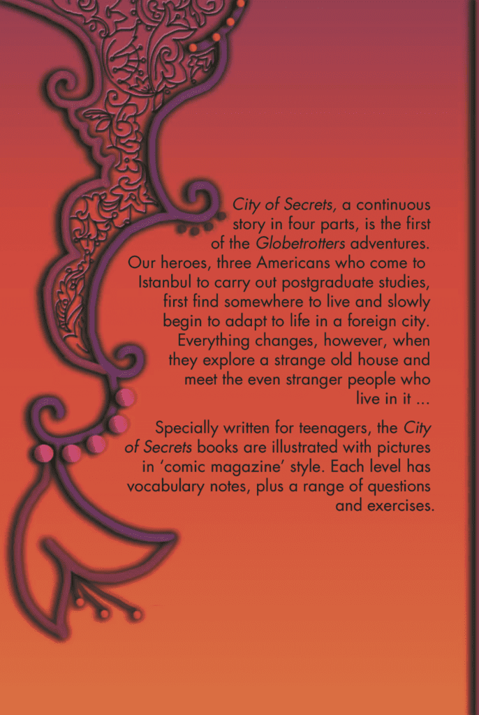 City of Secrets Level 4 English Reader Book Cover Back Page