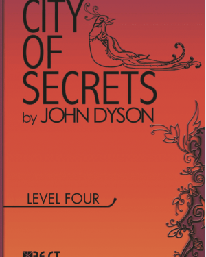 City of Secrets Level 4 English Reader Book Cover Front Page