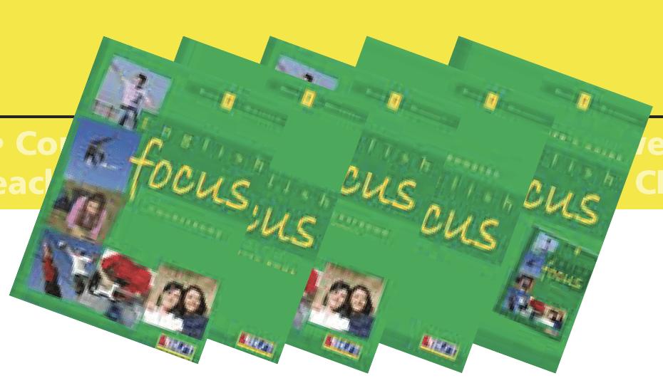English Focus 1 English Book Bundle