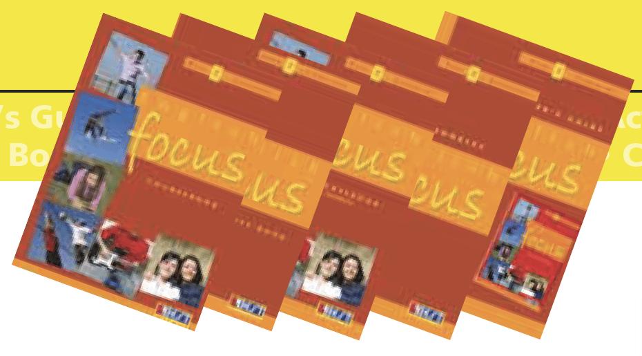 English Focus 2 English Book Bundle