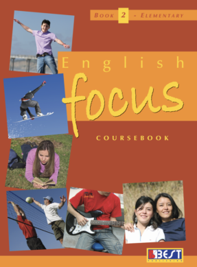 English Focus 2 English Book Cover Front Page