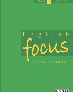 English Focus Activity Book 1 English Book Cover Front Page