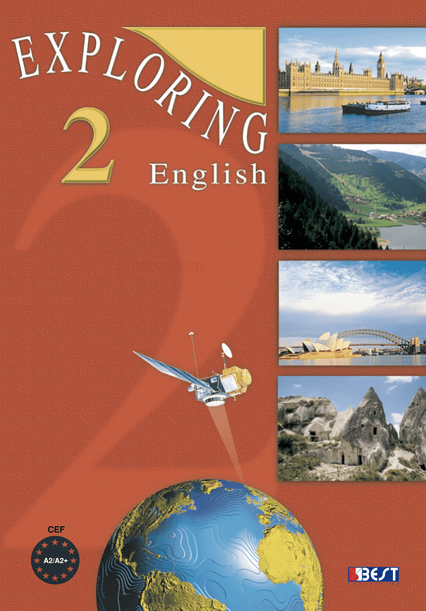Exploring English 2 English Book Cover Front Page