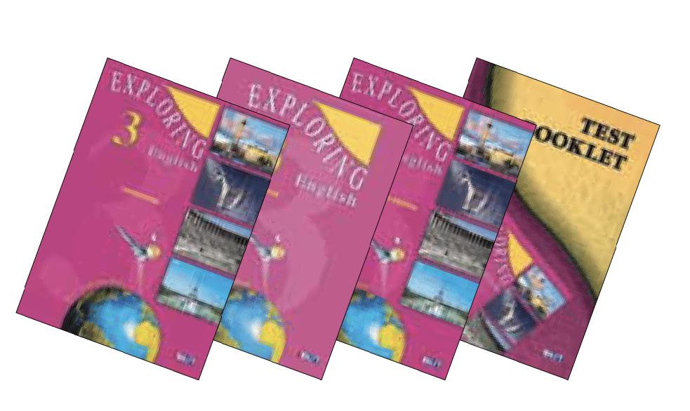 Exploring English 3 English Book Bundle
