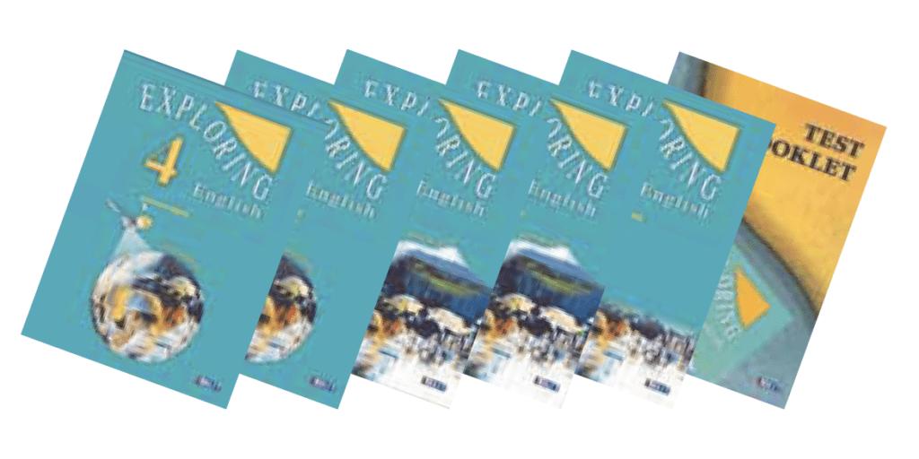 Exploring English 4 English Book Bundle