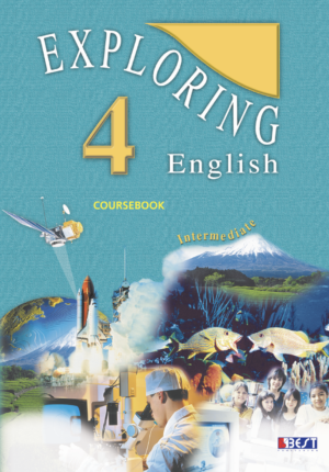 Exploring English 4 English Book Cover Front Page