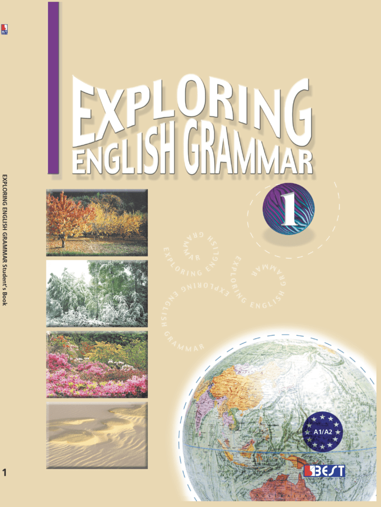 Exploring English Grammar 1 English Book Cover Front Page