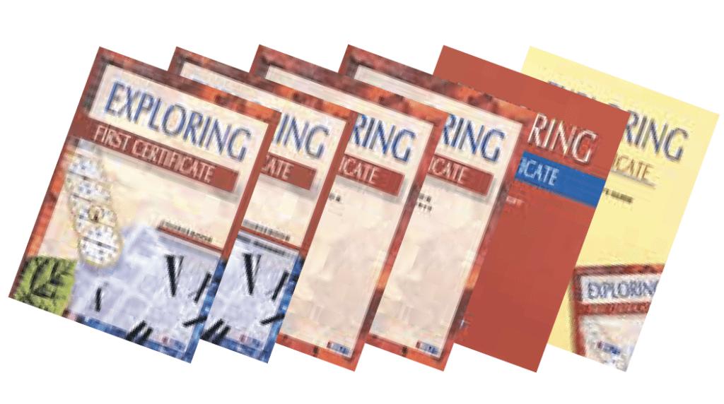 Exploring First Certificate English Book Bundle