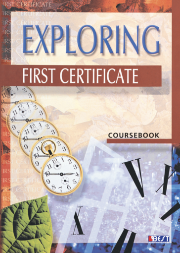Exploring First Certificate English Book Cover Front Page
