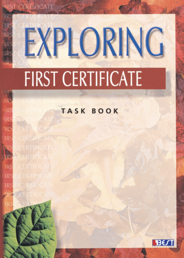 Exploring First Certificate Task Book English Book Cover Front Page