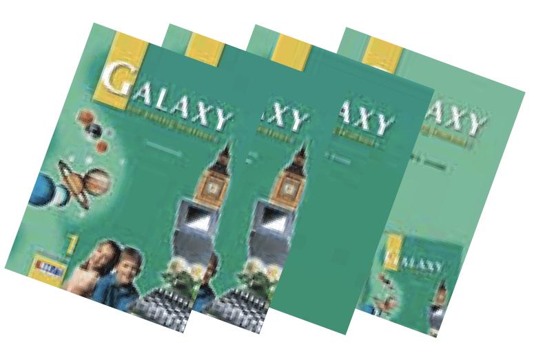 Galaxy 1 English Book Bundle
