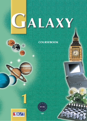 Galaxy 1 English Book Cover Front Page