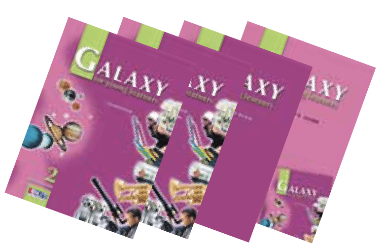 Galaxy 2 English Book Bundle