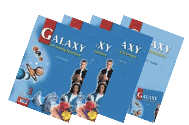 Galaxy 3 English Book Bundle