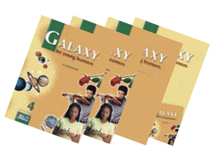 Galaxy 4 English Book Bundle
