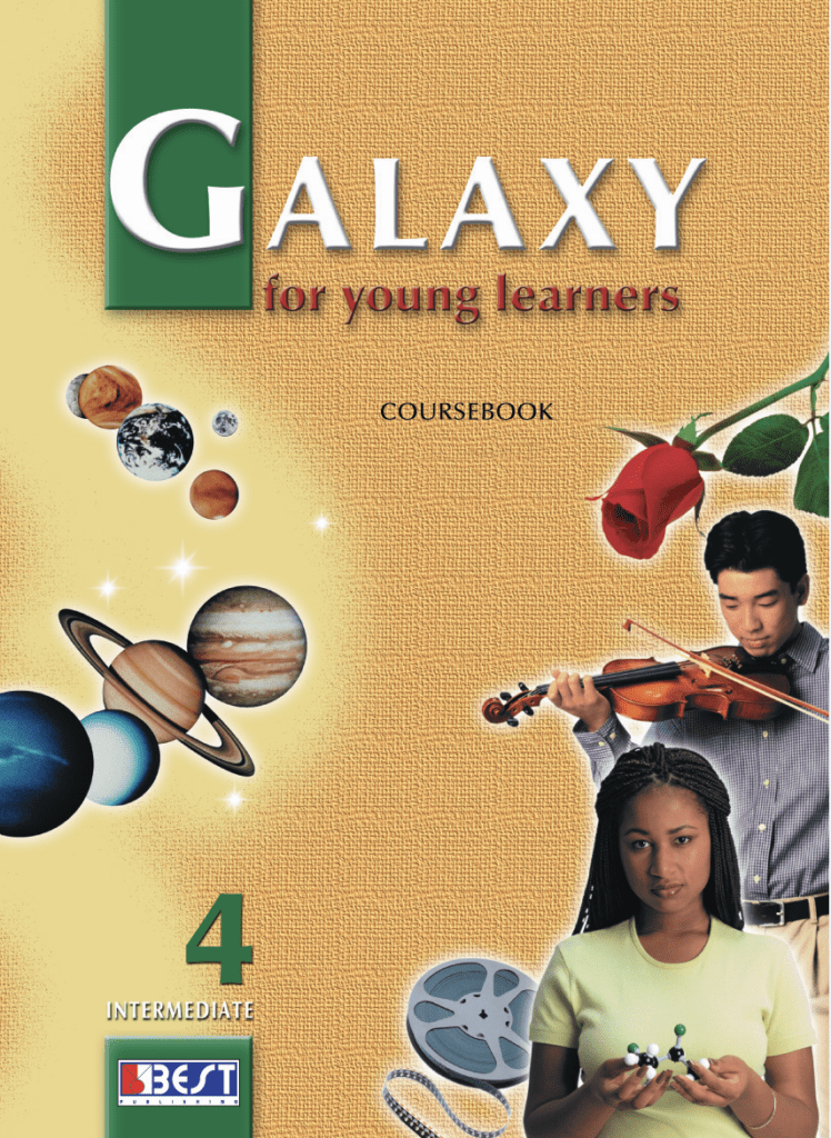 Galaxy 4 English Book Cover Front Page