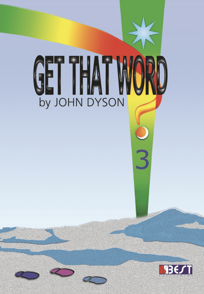 Get That Word 3 English Book Front Page