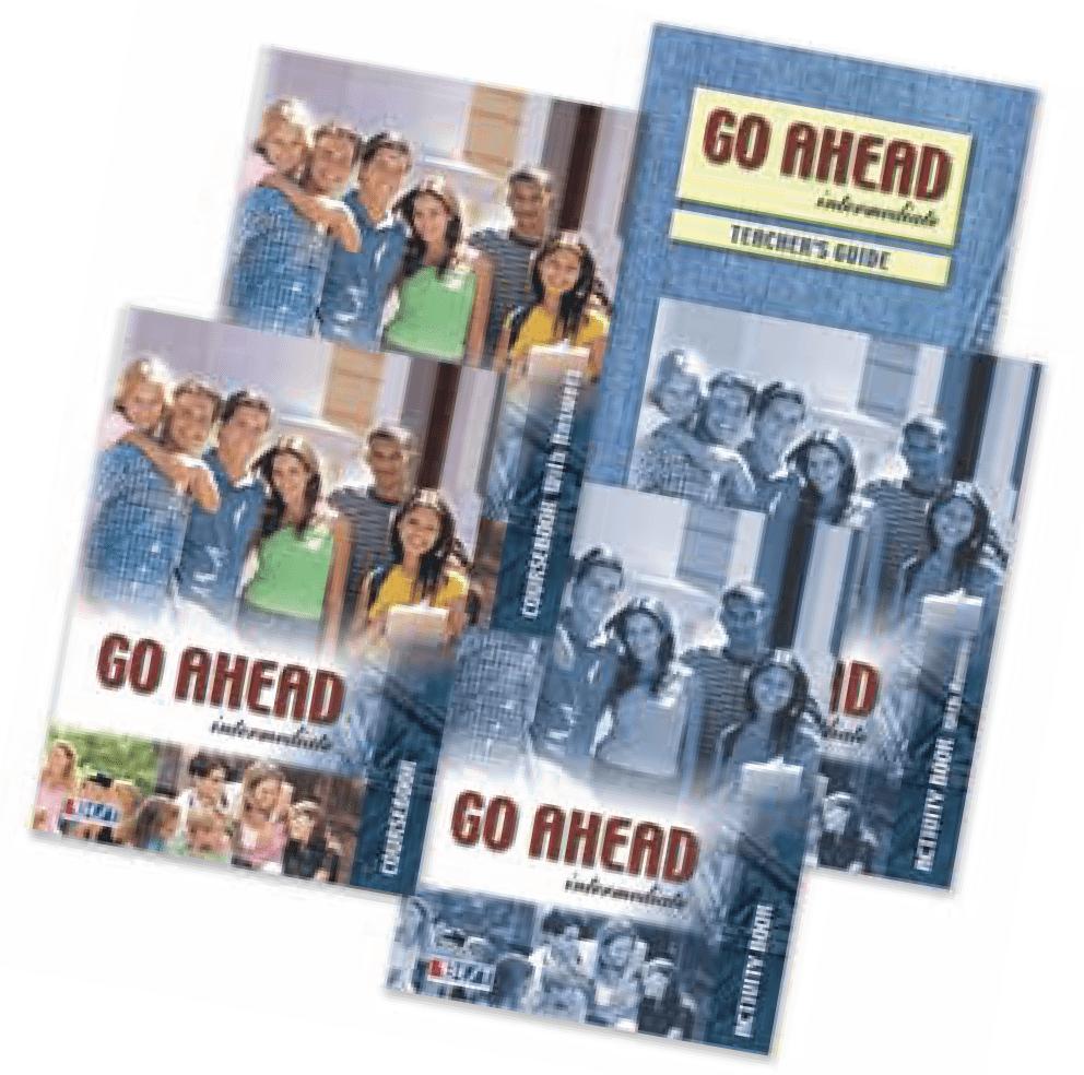Go Ahead Intermediate English Book Bundle