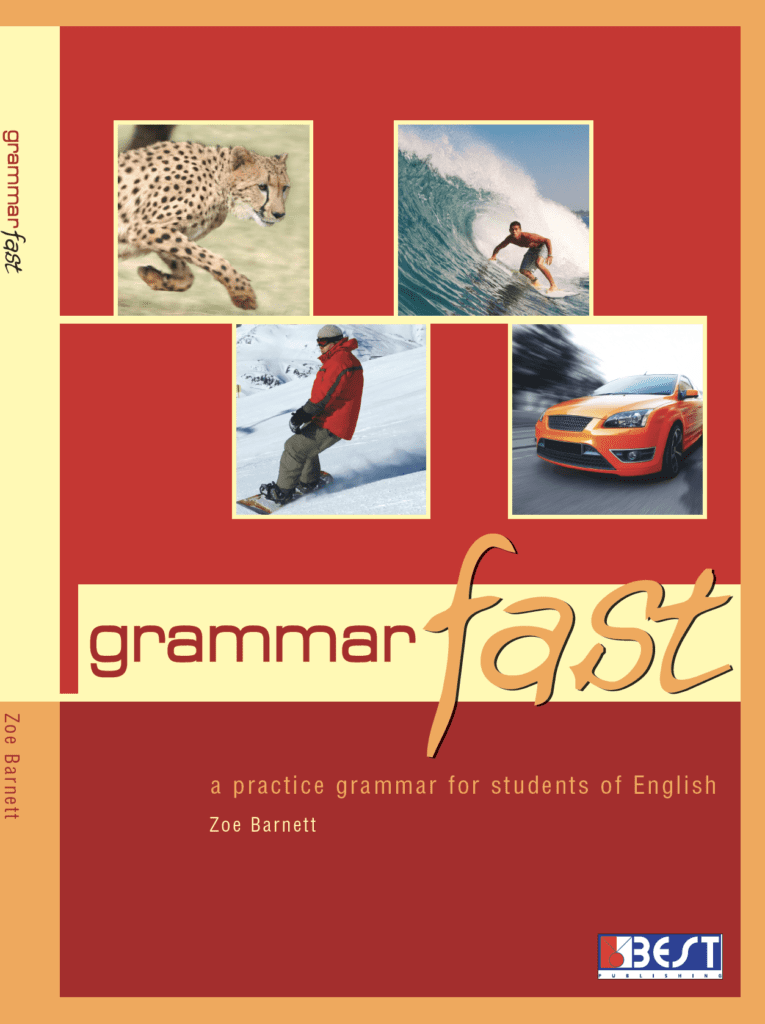 Ingilizce Kitap Grammar Fast English Book Cover Front Page