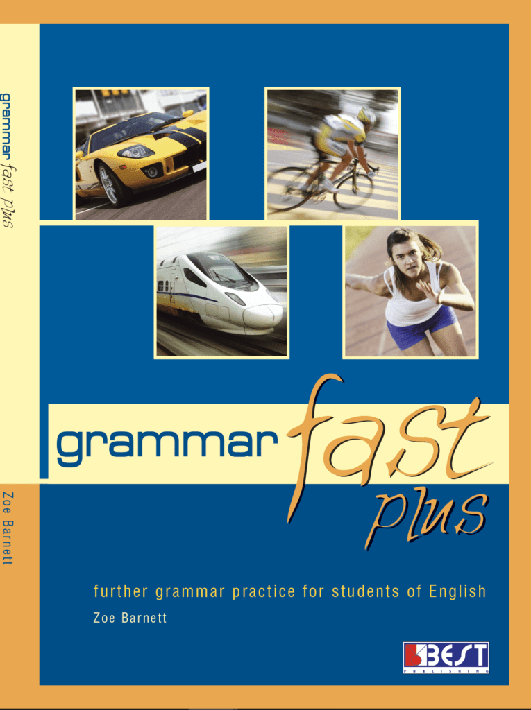 Grammar Fast Plus English Book Cover Front Page