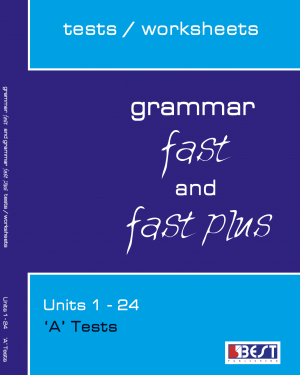 Grammar Fast and Fast Plus A Tests Cover Front Page