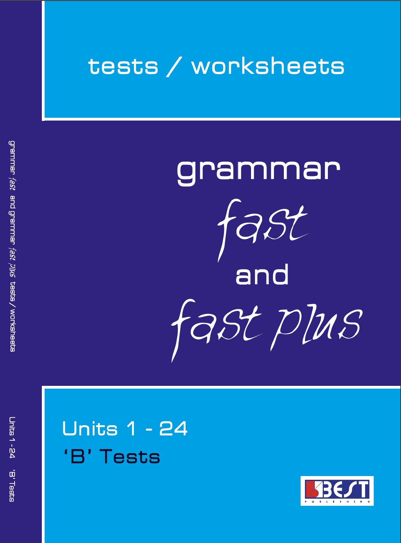 Grammar Fast and Fast Plus B Tests Cover Front Page