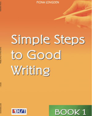 Simple Steps to Good Writing 1 English Book Front Page