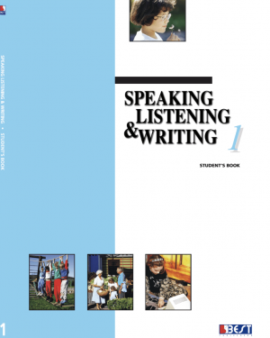 Speaking Listening Writing 1 English Book Cover Front Page