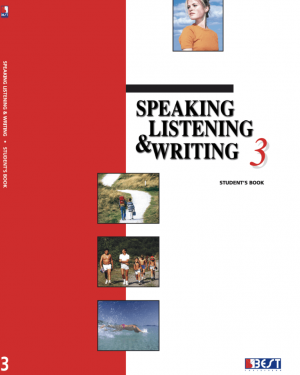 Speaking Listening Writing 3 English Book Front Page